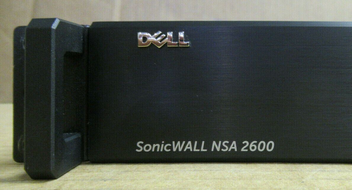 Dell SonicWALL NSA 2600 8x 1GBe Ports Network Security Appliance